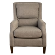 Laurel Foundry Modern Farmhouse Aubervilliers Pillow Back Arm Chair; Ash