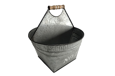 Cheungs Galvanized Metal Storage Caddy