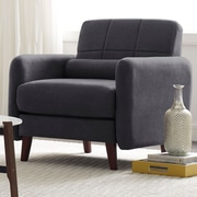 Serta at Home Savanna Arm Chair; Slate Gray