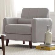 Serta at Home Savanna Arm Chair; Smoke Gray