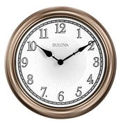 Bulova Light Time 14'' Wall Clock
