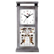 Bulova Waterlillys Mantel Clock