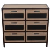 Laurel Foundry Modern Farmhouse Anise 6 Drawer Chest