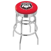 Holland Bar Stool 30'' Bar Stool; Georgia- Bulldog