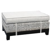 ChicTeak West Palm Ottoman