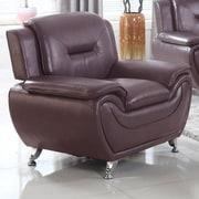 PDAEInc Deliah Modern Living Room Chair; Dark Brwn