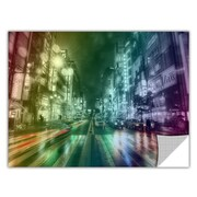 ArtWall ArtApeelz 'Tokyo Night II' by Revolver Ocelot Graphic Art Removable Wall Decal