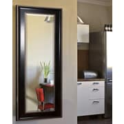 Rayne Mirrors Jovie Jane Black w/ Silver Caged Trim Full Length Beveled Body Mirror