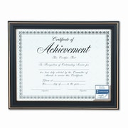 DAX MANUFACTURING INC. Trimmed Document Wood Frame w/ Certificate, 8-1/2 X 11