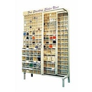 Quantum Free Standing Slider Storage System w/ Tip Out Bins
