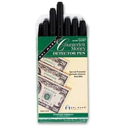 DRI-MARK PRODUCTS Smart Money Counterfeit Bill Detector Pen for Use w/ U.S. Currency, 12/Pack