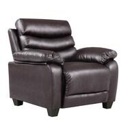 Glory Furniture Banner Arm Chair; Dark Brown