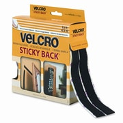 VELCRO USA, INC. Sticky-Back Hook and Loop Fastener Tape w/ Dispenser, 3/4 X 15 Ft. Roll