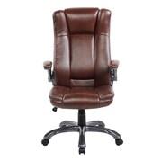 United Chair Industries LLC High-Back Executive Chair; Brown