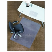 E.S. ROBBINS 45X53 Lip Chair Mat, Professional Series Anchorbar For Carpet Up To 3/4''; 46'' x 60''
