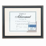 DAX MANUFACTURING INC. Trimmed Document Wood Frame w/ Certificate, 11 X 14