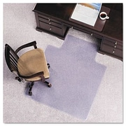 E.S. ROBBINS Anchormat Plush Pile Carpet Chair Mat; 45'' x 53''
