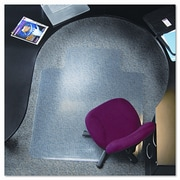E.S. ROBBINS 36X48 Lip Chair Mat, Multi-Task Series Anchorbar For Carpet Up To 3/8''; 45'' x 53''