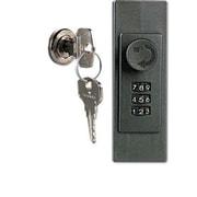 DURABLE OFFICE PRODUCTS CORP. Locking Key Cabinet, 36-Key, Brushed Aluminum, 11 7/8 X 4 3/4 X 11
