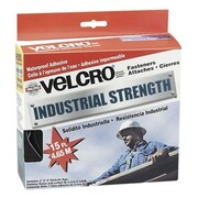 VELCRO USA, INC. Industrial Strength Hook & Loop Fastener Tape Roll, 2'' x 4 ft. Roll, White