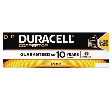 Duracell - Piles CopperTop D, paq./12