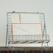 Creative Co-Op Grange Book Holder 13'' Leaning Bookcase