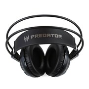 Acer® Predator NP.HDS1A.001 Stereo Wired Gaming Headset, Black/Red