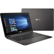 "ASUS VivoBook Flip TP201SA-DB01T 11.6"" Touchscreen Netbook, LCD, Intel Celeron N3060, 500GB, 4GB, Windows 10 Home, Gray"