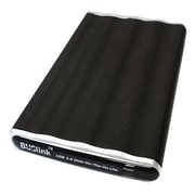 Buslink Disk On The Go DL 500 U3 500GB USB 3.0 Slim Portable External Hard Drive, Black