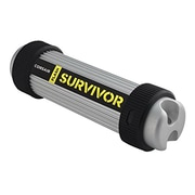 Corsair Flash Survivor® 64GB USB 3.0 Flash Drive, Black/Gray (CMFSV3B-64GB)