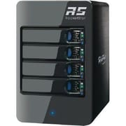 HighPoint RocketStor 4-Bay SAS Storage Enclosure, Black (6414S)