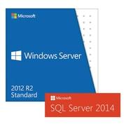HP® Windows Server 2012 R2 with SQL Server 2014 Software License, DVD (4XI0E51596)
