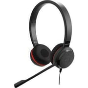 Jabra® Jabra Evolve 30 II MS Stereo Over-the-Ear Professional Headset with Noise Canceling Microphone, Black