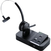 Jabra Pro 9450 65 14201 35 Flex Mono Wireless Headset with Base, Black by