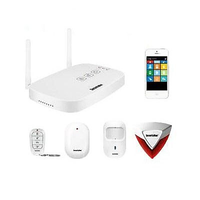 Macally Wireless Home Security Alarm System IWATCHALARMD
