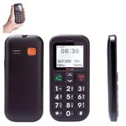 """MYEPADS 1.77"""" Exclusive SOS Function Phone, Black (SOSPHONE-BLK)"""