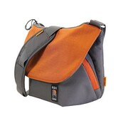 "Norazza Ape Tech AC580OR Messenger Case for 11"" iPad mini, Orange/Gray"