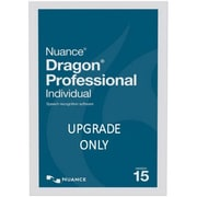 Nuance® Dragon® Pro Individual V.15 Upgrade Software from Pro 13 or 14,1 User, Win, DVD (K889A-RD7-15.0)
