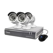 Swann® 4 Channel 1080P Digital Video Recorder with Cameras, Gray (DVR4-4600)
