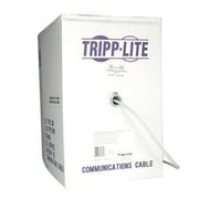 Tripp Lite N028 1000' RJ-45 Male/Male Outdoor-Rated Cat5e Patch Cable, Gray