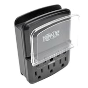 Tripp Lite Protect It! Personal Charging Station with 3-Outlet Surge Protector, Black (SK34USBB)