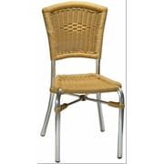 H&D Restaurant Supply, Inc. Stacking Dining Side Chair
