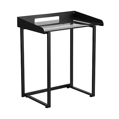Offex Writing Desk; Black