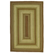 Homespice Decor Winter Wheat Green Indoor/Outdoor Area Rug; 6' x 9'