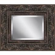 Ashton Wall D cor LLC Rectangle Guilded Framed Beveled Plate Glass Mirror