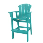 Pawleys Island Sunrise Dining Arm Chair; Turquoise