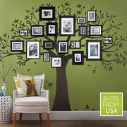 SimpleShapes Family Tree Wall Decal; 90'' H x 107'' W