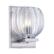 Elegant Lighting Monticello 1-Light Wall Sconce; Light Antique Brass