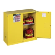 Justrite Sure-Grip  44''H x 43''W x 18''D  2 Door EX Flammable Safety Cabinet