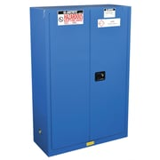 Justrite Sure-Grip  65''H x 43''W x 18''D 2 Door 'EX Hazardous Material Steel Safety Cabinet